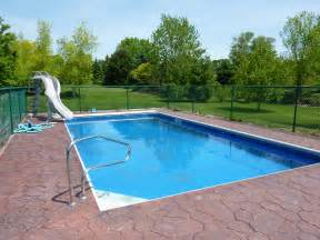 swimming pool completed inground swimming pools landscaping
