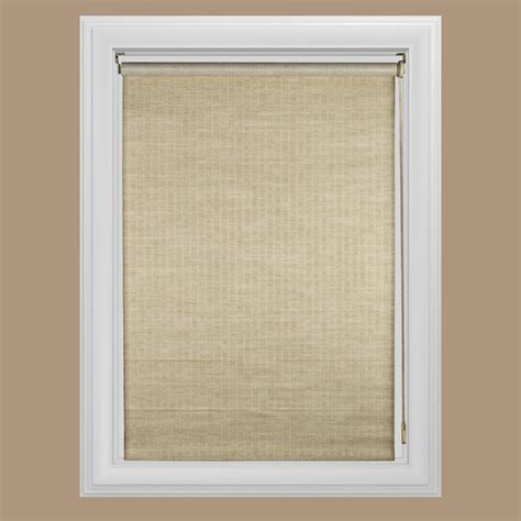 home window treatments roller shades blinds window treatments the home depot