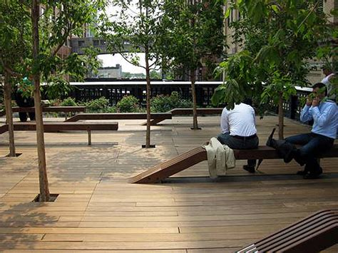 bench nyc friday feature high line park nyc regina urban ecology