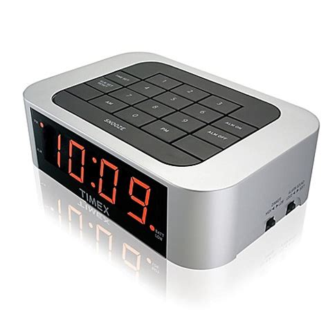 buy timex 174 simple set alarm clock from bed bath beyond