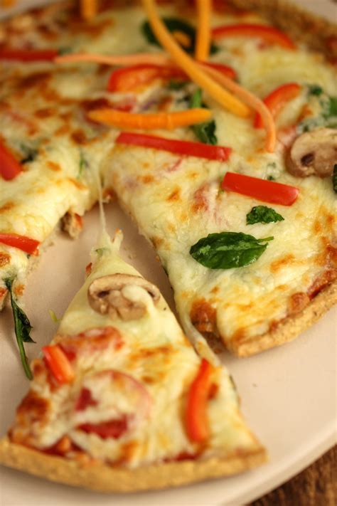 protein pizza four ingredient protein pizza crust