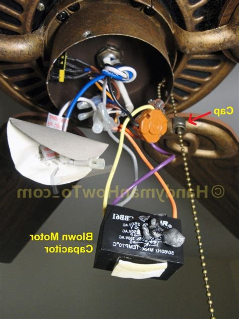 ceiling fan capacitor replacement hton bay ceiling fan capacitor wanted imagery