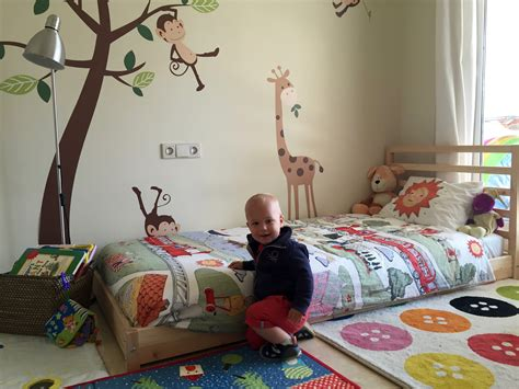 bed for one year old ikea montessori bed big boy version