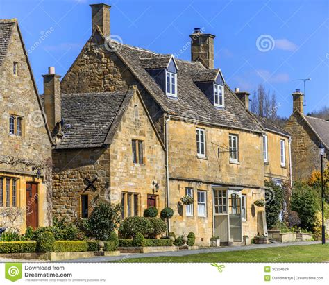 Cottages In Broadway Cotswolds by Cottages Broadway Stock Images Image 30304624