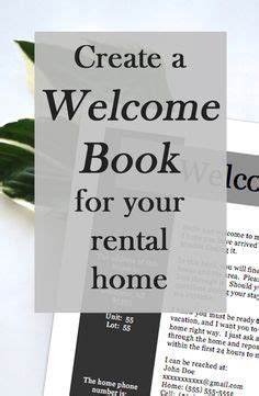 vrbo receipt template 10 item package vacation rental welcome book printable