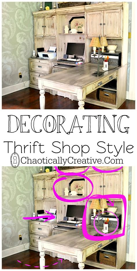 Thrift Store Home Decor Ideas Thrift Store Decor Chaotically Creative
