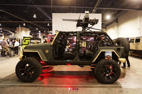 armored jeep wrangler our five favorite jeep wranglers at the 2014 sema show