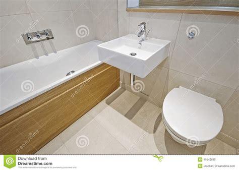bathroom with designer appliances royalty free stock photo