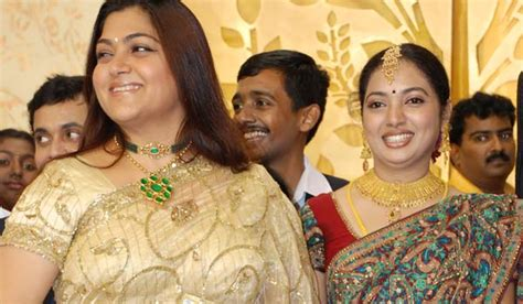 Kushboo marriage with karunanidhi family corruption