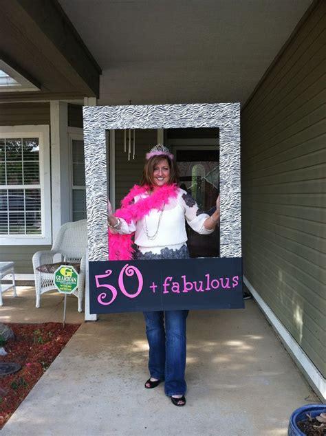 5 Fabulous Diy Fashion Ideas by 50th Birthday Photo Prop For 50 Fabulous 50