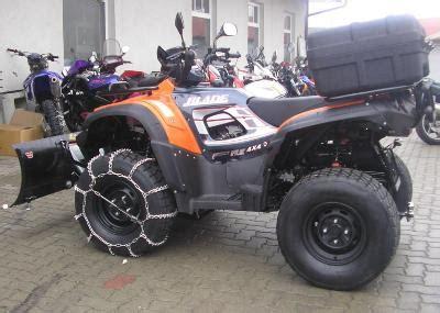 Motorrad Auf Quad Umbauen by Quad Umbau F 252 R Den Wintereinsatz