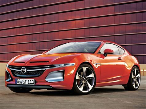 new opel gt coupe concept will debut at 2016 geneva show