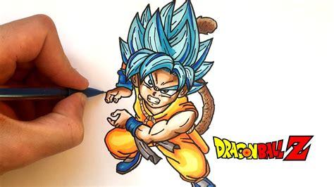 imagenes de goku kawai dessin goku god kawaii dragon ball super youtube