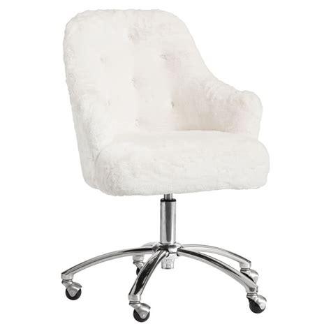 white fuzzy desk chair white fuzzy desk chair whitevan