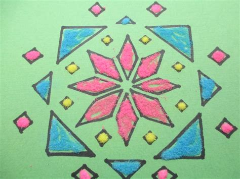 rangoli pattern using shapes 31 best images about craftopedia on pinterest papier