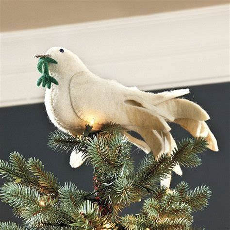 dove christmas tree topper dove tree topper traditions