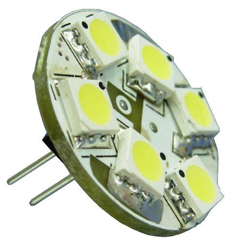 g4 led bi pin halogen bulbs e marine systems