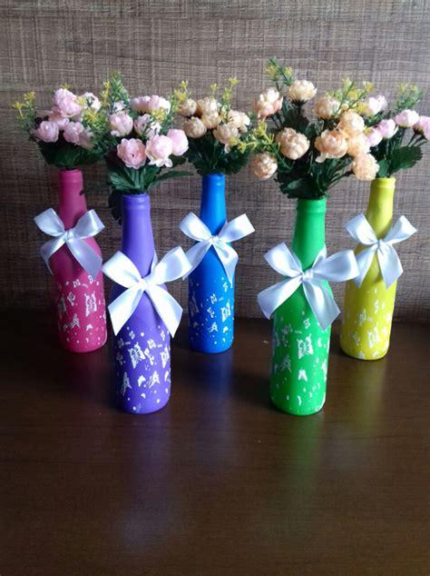 decoração em garrafa bexiga enfeite de mesa garrafa e bexiga passo a passo