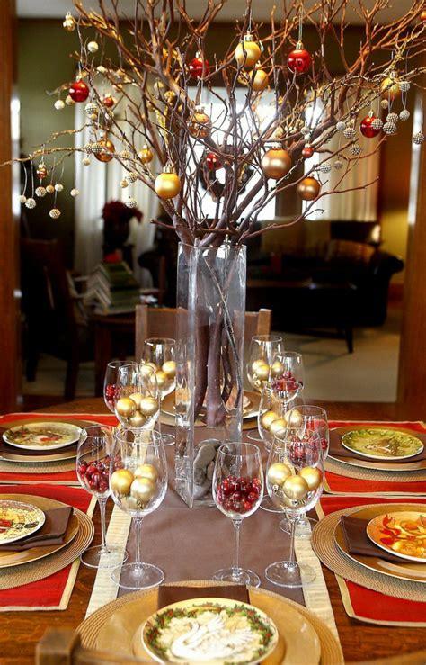 como decorar la mesa para el espiritu de la navidad centros de navidad para decorar la mesa con estilo