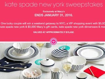 Macys Instant Win - macy s kate spade new york sweepstakes