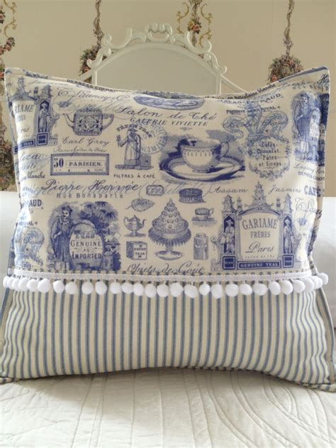 country pillow cover shabby chic pillow cover