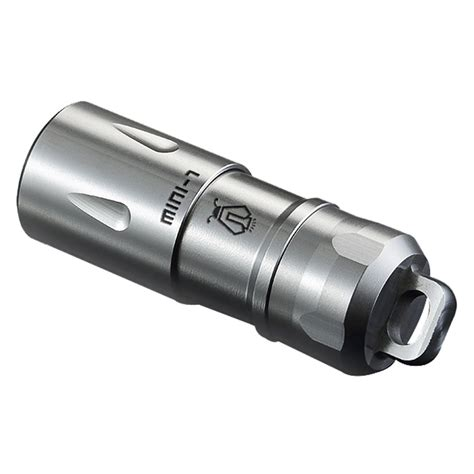 jetbeam mini 1 tiny usb rechargeable light senter led cree xp g2 130 lumens silver