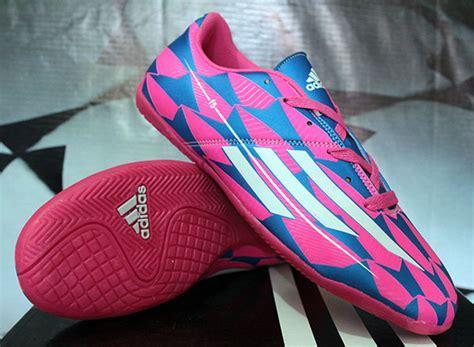 Sepatu Futsal Original Adidas Adizero F5 In Tribalpack Bluepink adidas futsal f50 original