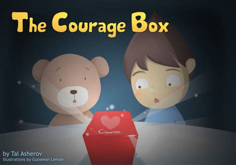 freefalling the courage to jump start your books the courage box ourboox