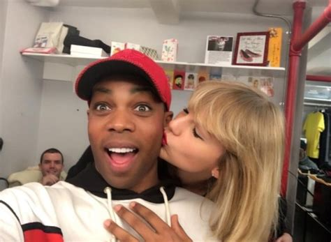 taylor swift concert nz info tswiftnz todrick thank you taylorswift for coming to see
