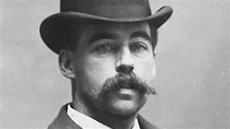 h h the body of h h holmes is being exhumed right now