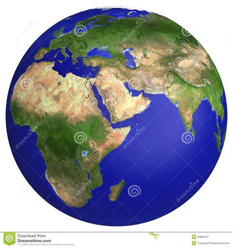 earth planet globe map stock illustration illustration
