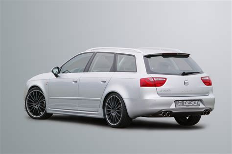 car express news je design seat exeo st tuning accessories