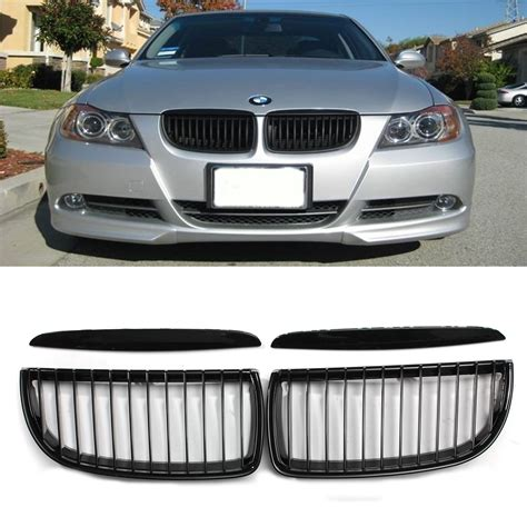 bmw grill gloss black front kidney grille grill for bmw e90 320i