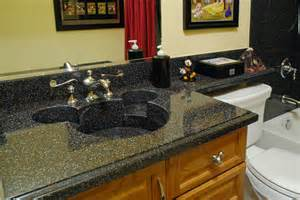 custom made corian mickey mouse sink using the color