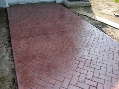 pattern imprinted concrete ideas sted concrete designs in perfect finishing home ideas