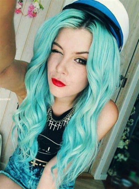 rockin  colorful locks images  pinterest