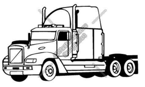 semi truck clip semi truck clipart black and white clipart panda free