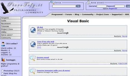dispense linguaggio c dispense visual basic