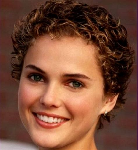 short hair cut curly large head 14 best short haircuts for women with round faces