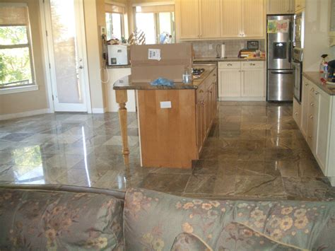 Marble Kitchen Floor Rainforest Green Marble Floor In Longmont