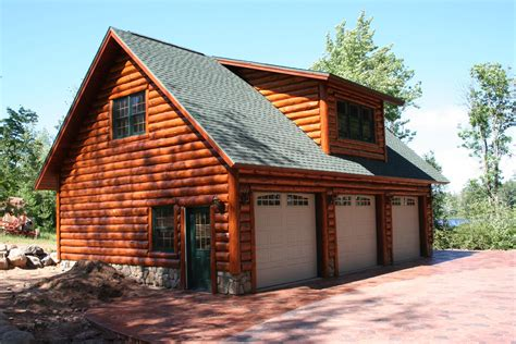 log cabin garages log cabin garage with lofts garage with scribe log