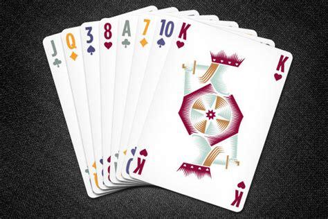 polaris deck reinvents playing card  design