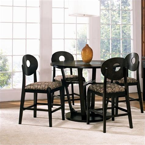 48 inch dining table set modus bossa 5 48 inch counter height dining