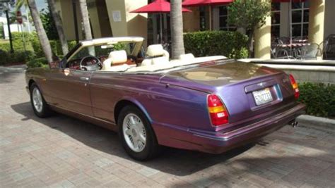 custom bentley azure find used 1996 bentley azure convertible custom painted