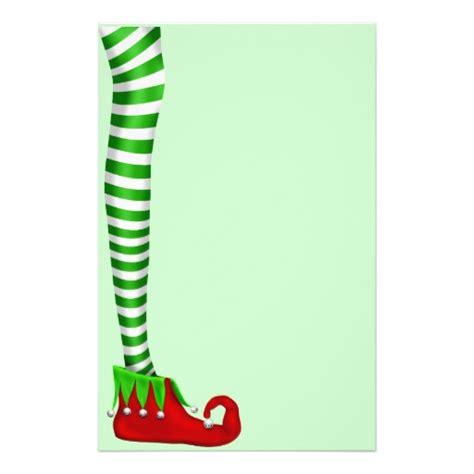 printable elf legs elf leg scrapbooking paper stationery zazzle