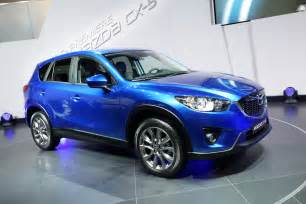 all new mazda cx 5 crossover makes its world premiere in