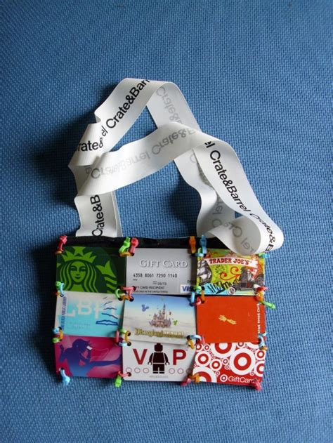 Dollar Store Gift Cards - make a gift card purse 187 dollar store crafts