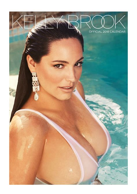 kelly brook made a calendar for 2017 the nip slip kelly brook in swimsuits lingerie 2018 calendar pics