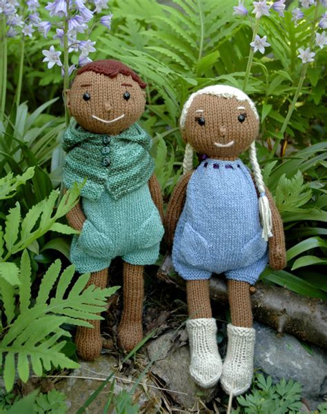 wood elf pattern wood elf doll knitting pattern