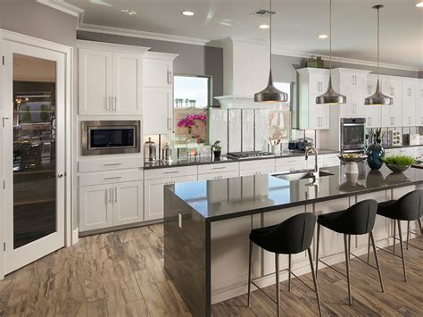 trendy and new kitchen designs in 17 exle pics mostbeautifulthings monterey homes luxury living meritage homes